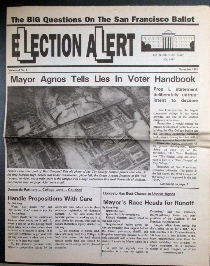 1991-Nov-PropL-newspaper-ElectionAlert-01s