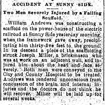 SF Chronicle, 19 Dec 1891.