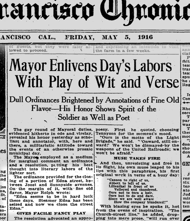 1916May05-Chronicle-Edna-St-Mayor-Rolph