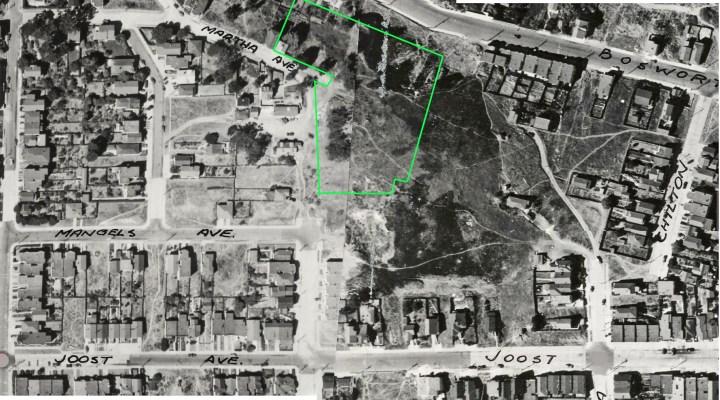 1938-aerial-Erskine-Park-marked