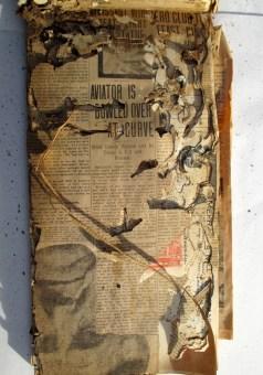 1910. Aviation scrapbook kept by William Merralls. Collection of Glen Park Neighborhoods History Project. Courtesy Allan Merralls.