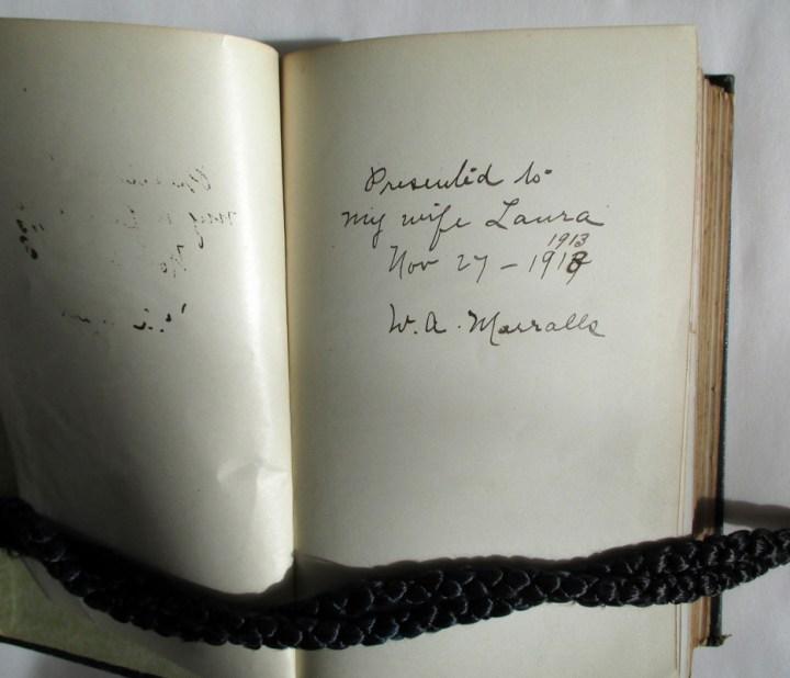Neuropathy-Book-inscription-William-Merralls-Laura-ss