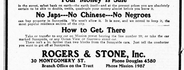 SF Examiner, 18 Sept 1909.