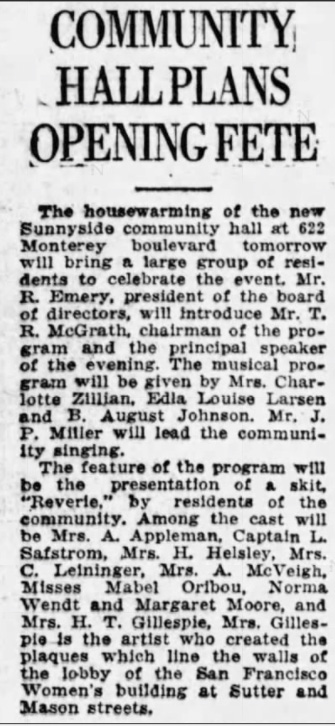SF Examiner, 5 Jun 1927.