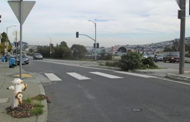 2019. Monterey Blvd, after SFMTA U02894. Photo: Amy O'Hair.