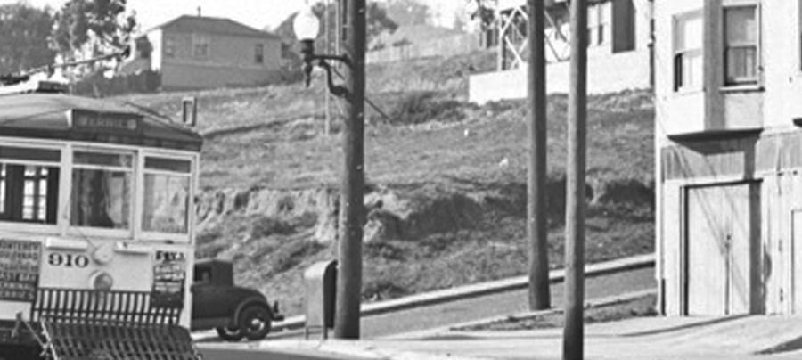 1939. Monterey at Congo. OpenSFHistory.org.