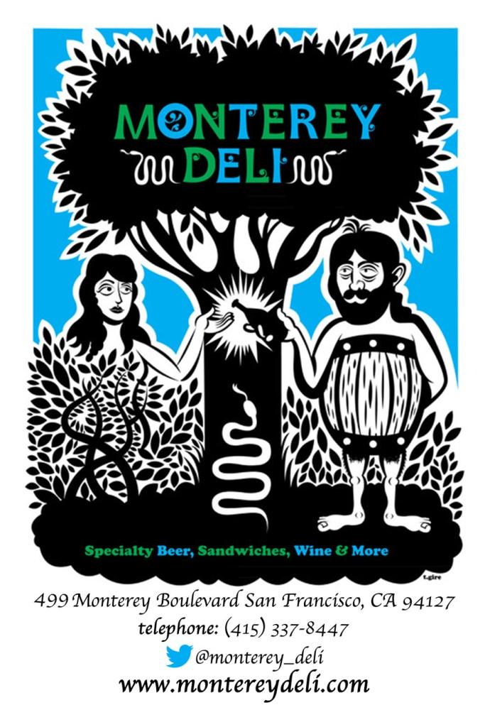 Monterey Deli's logo. Courtesy Almir Zalihic.