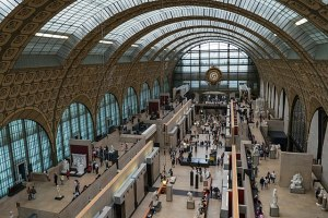 Museé d'Orsay in Paris, a transformation of Gare d'Orsay (1986). Wikimedia.org.