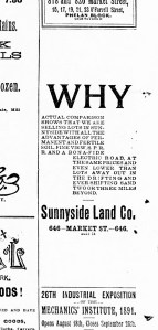 Why indeed. SF Call, 23 Aug 1891.