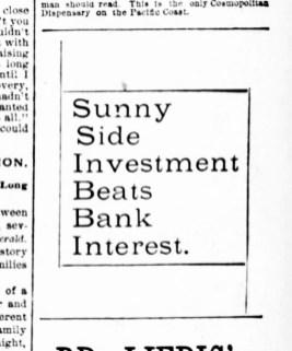 SF Examiner, 6 Sep 1891.