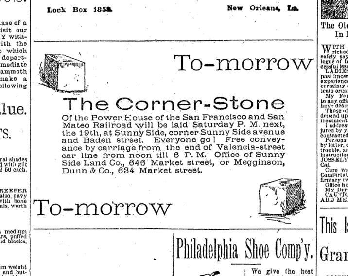 SF Chronicle, 18 Sep 1891.