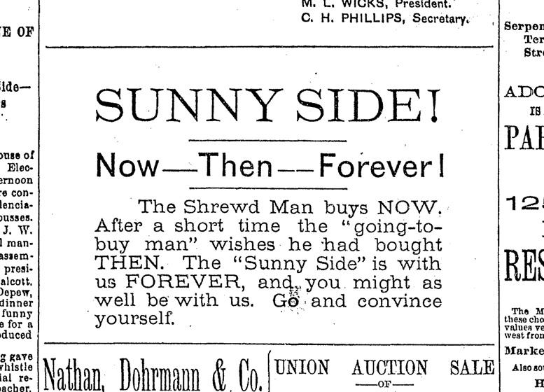 SF Chronicle, 20 Sep 1891.
