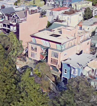 2019. 875 Vermont Street. Designed by Jonathan Bulkley. Google Satellite.