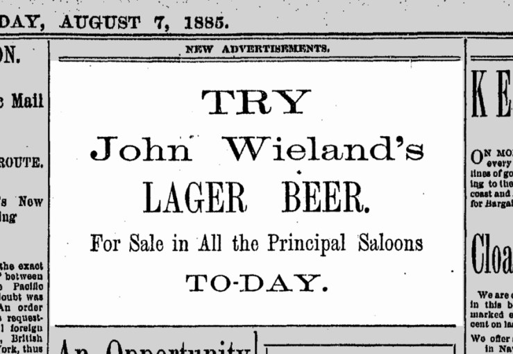SF Chronicle, 7 Aug 1885.