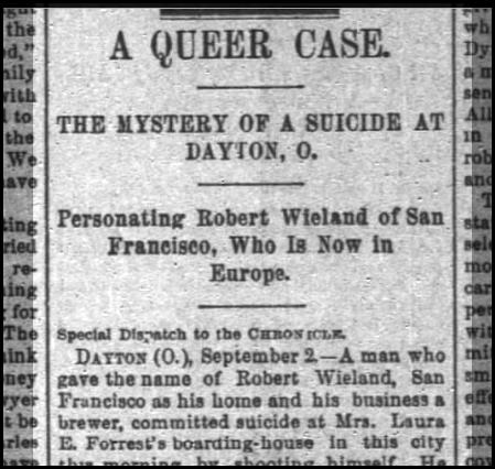 SF Chronicle, 3 Sep 1891.