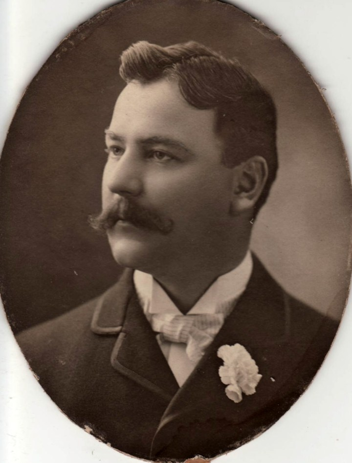 John Henry Mangels, about 1890. Photo courtesy of Mark Reed.