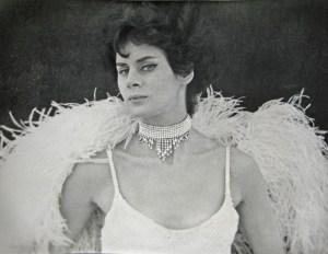 1962. Ann Marie Garvin, performer at the Seattle World's Fair. Photo courtesy Ann Marie Garvin.