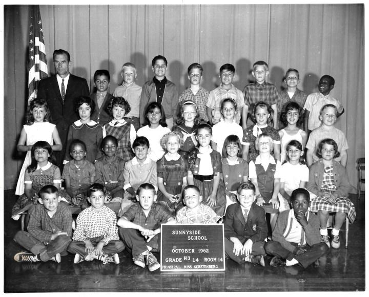 Third/fourth grade, Sunnyside Elementary School, 1962. Courtesy Marty Hackett.