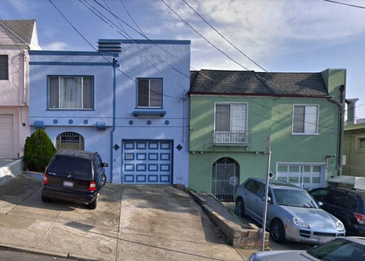 211-219 Wheeler Avenue, Little Hollywood. Plov built, 1946.