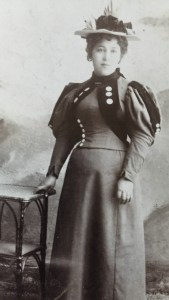 Martha Finne of Mendocino, about the time of her marriage to Robert Chipps. Ancestry.com