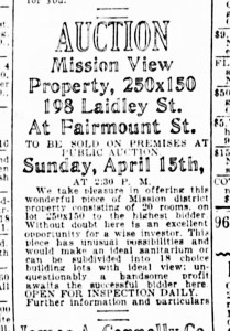 SF Examiner, 12 Apr 1928.