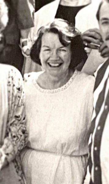Polly GIlmore. 1988c. Photo: Francisco Gutierrez. Courtesy Roger Heffner.