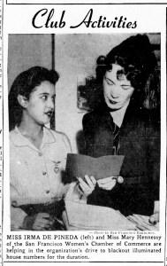 SF Examiner, 14 Dec 1941.