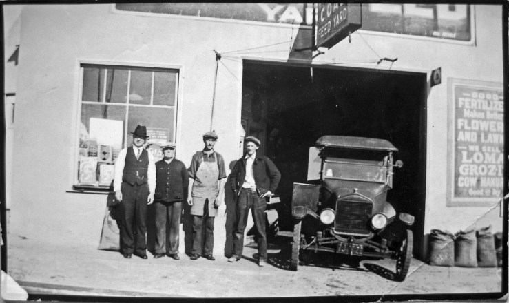1920s. The Williams brothers ran the Sunnyside Coalyard at 36 Joost until the 1930s. Courtesy the Williams family.