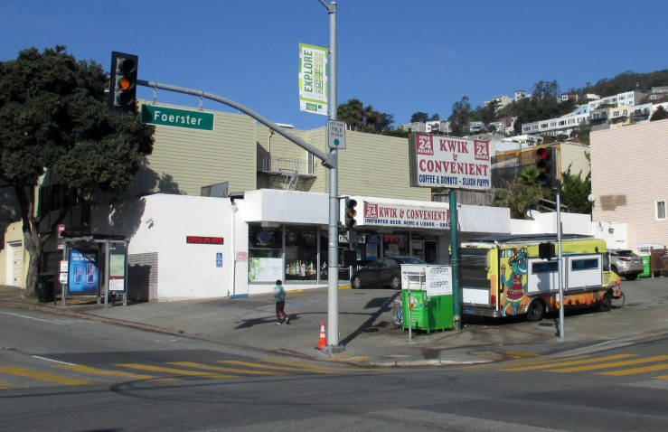 2020. 600 Monterey Blvd. Kwik & Convenient, since mid1980s. The Blue Iguana foodtruck has been a fixture since 2014. Photo: Amy O'Hair
