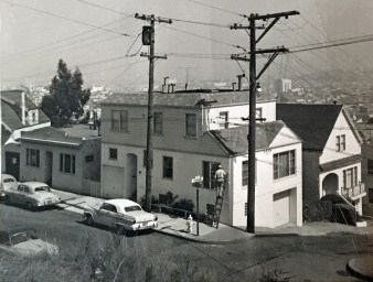 1956c. 197 Fairmount, across the street from the Poole-Bell House. Courtesy Diane LoPresti Christensen.