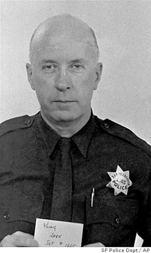 Sergeant John V Young. About 1970. SFPD/AP.