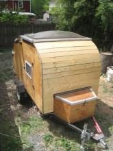 The Remodeled Teardrop Camper.