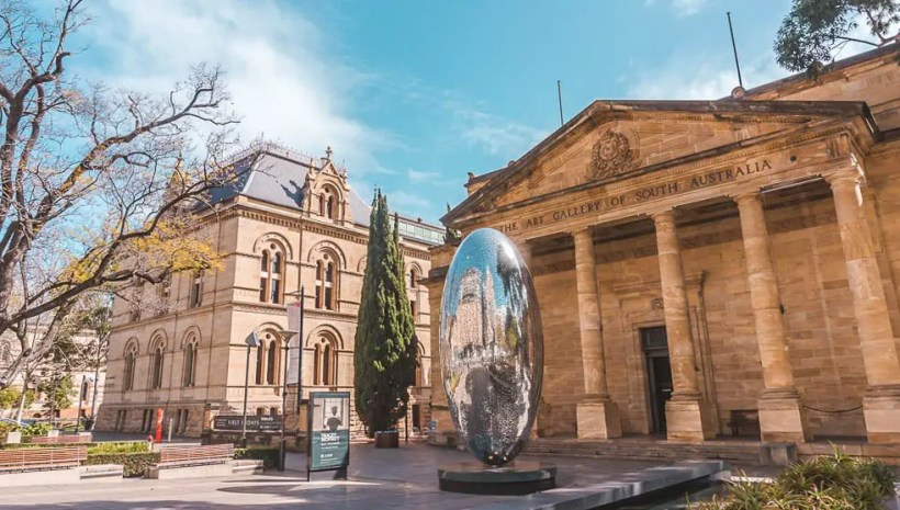 cosa vedere ad Adelaide, l'Art Gallery of South Australia