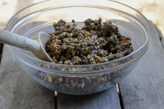 Trader Joes' Steamed Lentils