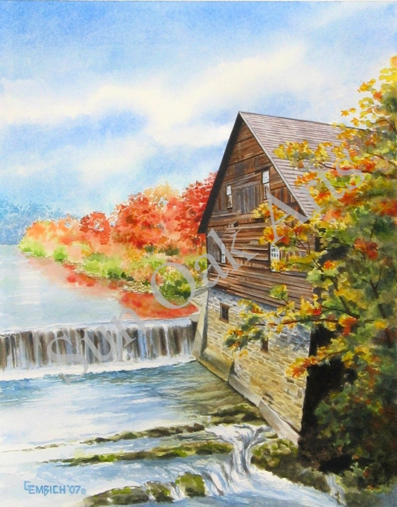 Old Mill Fall