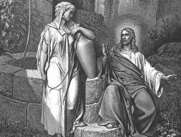 Как Христос говорил с самарянкой