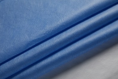 sms blue fabric