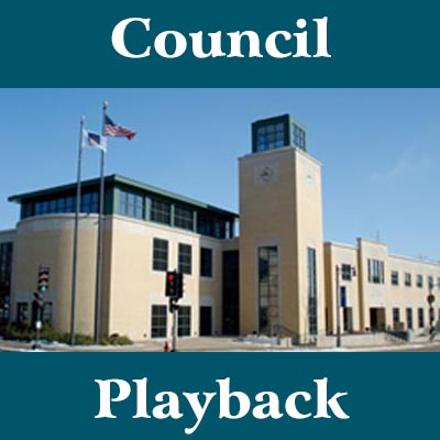 """Council Playback,"" hosted by Steve Sabatke, will be designed as a review of the most recent Common Council and Committee of the Whole Meetings, and will focus on the most significant developments from those meetings. Each episode will feature Sabatke interviewing the mayor, a Council member, and potentially city staffers."