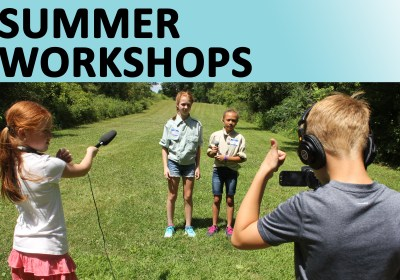 Spots remain in Sun Prairie Media Center's Summer Workshops!