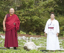 HH Chetsang Rinpoche and Ven. Dhyani