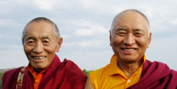 His Eminence Khenchen Palden Sherab Rinpoche & Venerable Khenpo Tsewang Dongyal Rinpoche