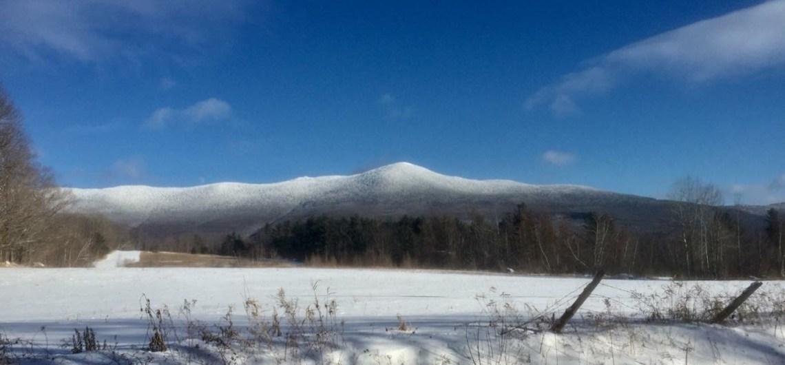 Mount Abraham in Winter