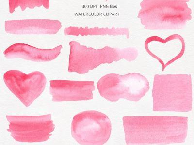 pink-watercolor-texture