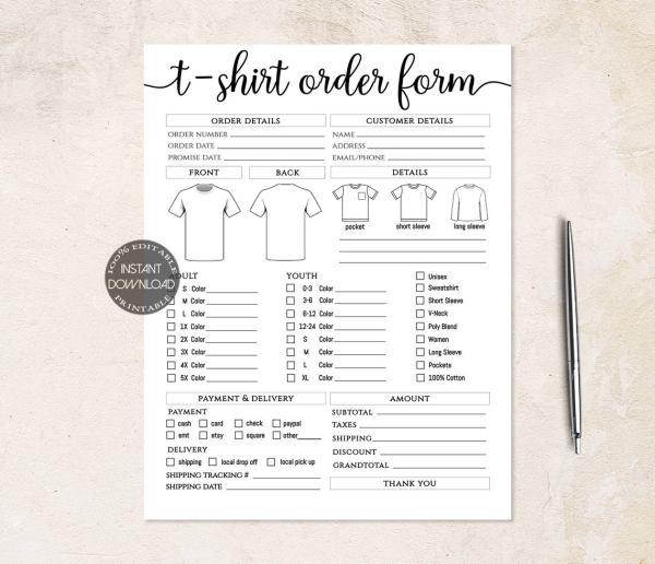 tshirt-order-form