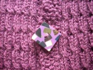 the mosaic button