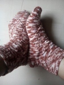 Arrow Lace socks