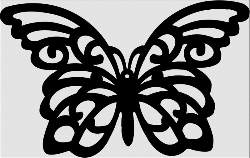Openwork Butterfly Paperi