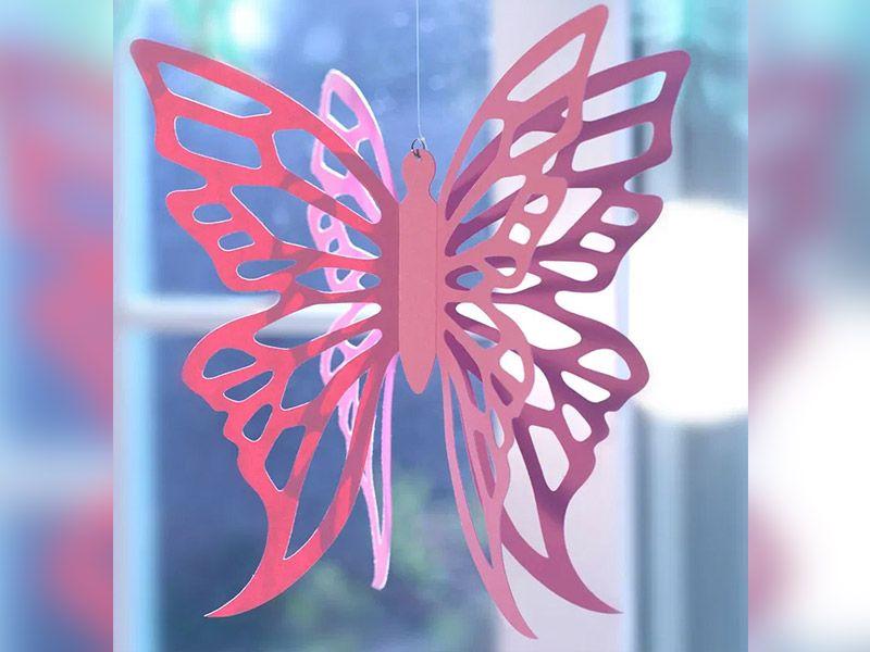 Avoimet paperi perhoset tekevät sen itse