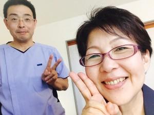 岡山市 女性専用リンパマッサージの施術をする女性です