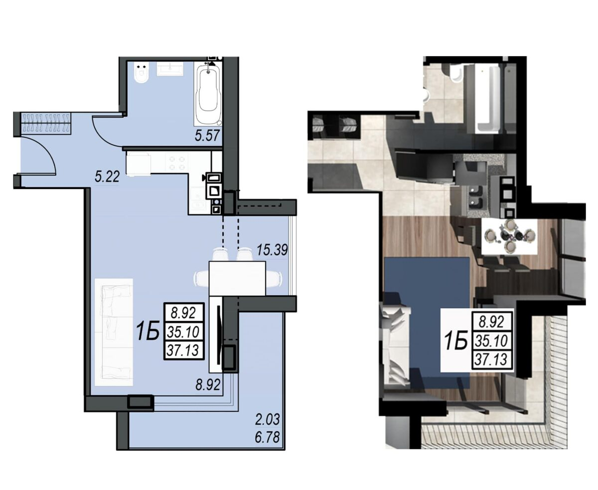 Планировка квартиры: 176